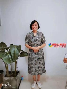上海月嫂,韦丽霞