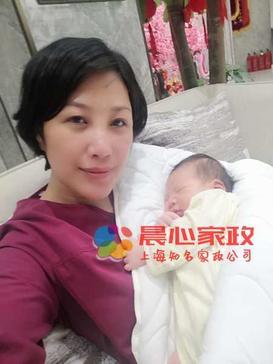 上海保姆,月嫂,育婴师,保洁,早教师,家务师,住家\张阿姨